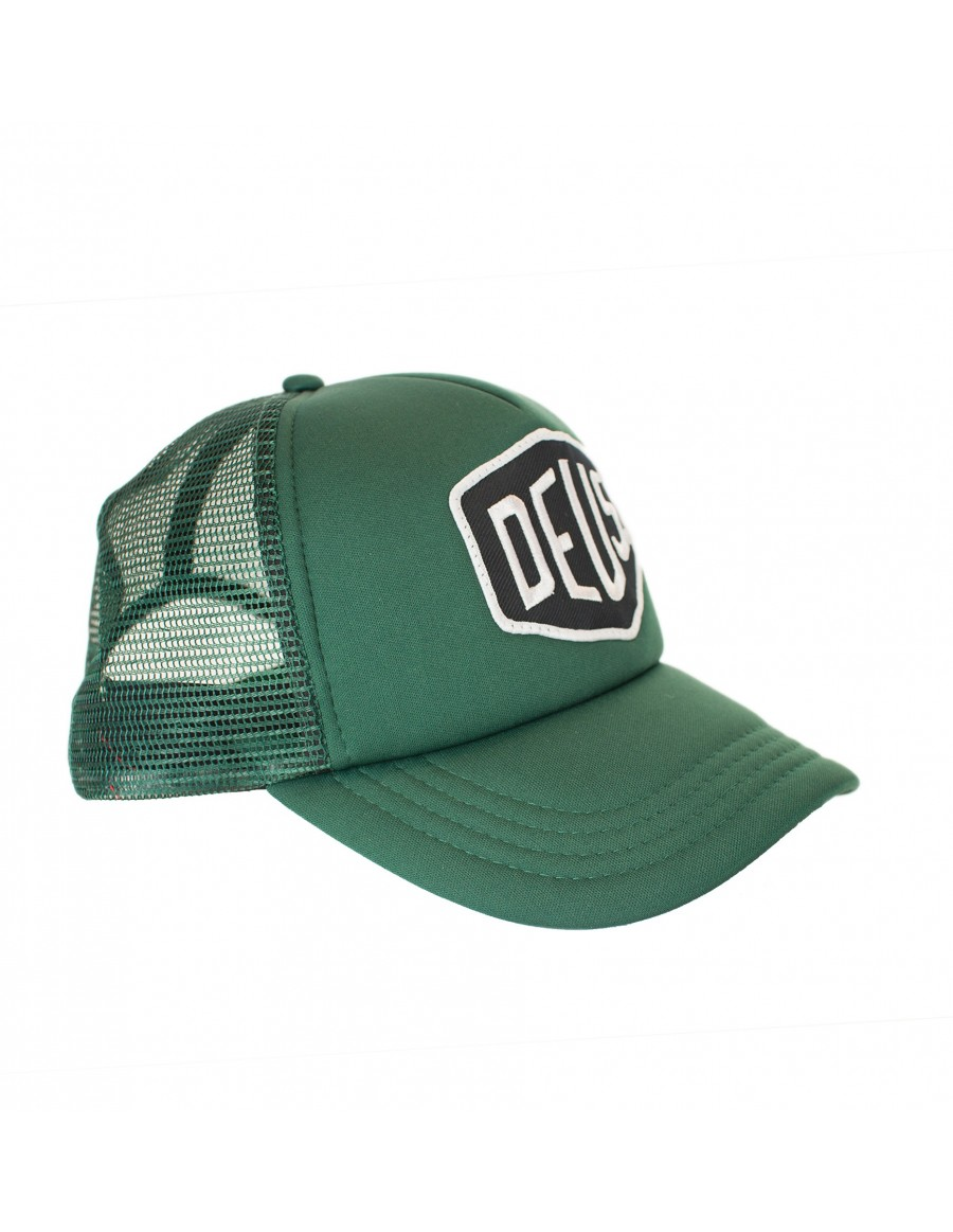 DEUS Baylands Trucker cap - green