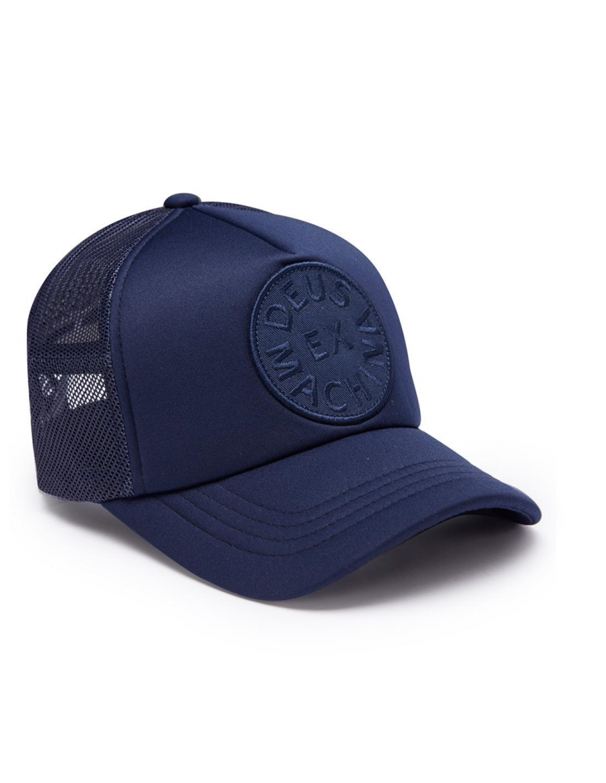 DEUS Circle Trucker kappe - Blau