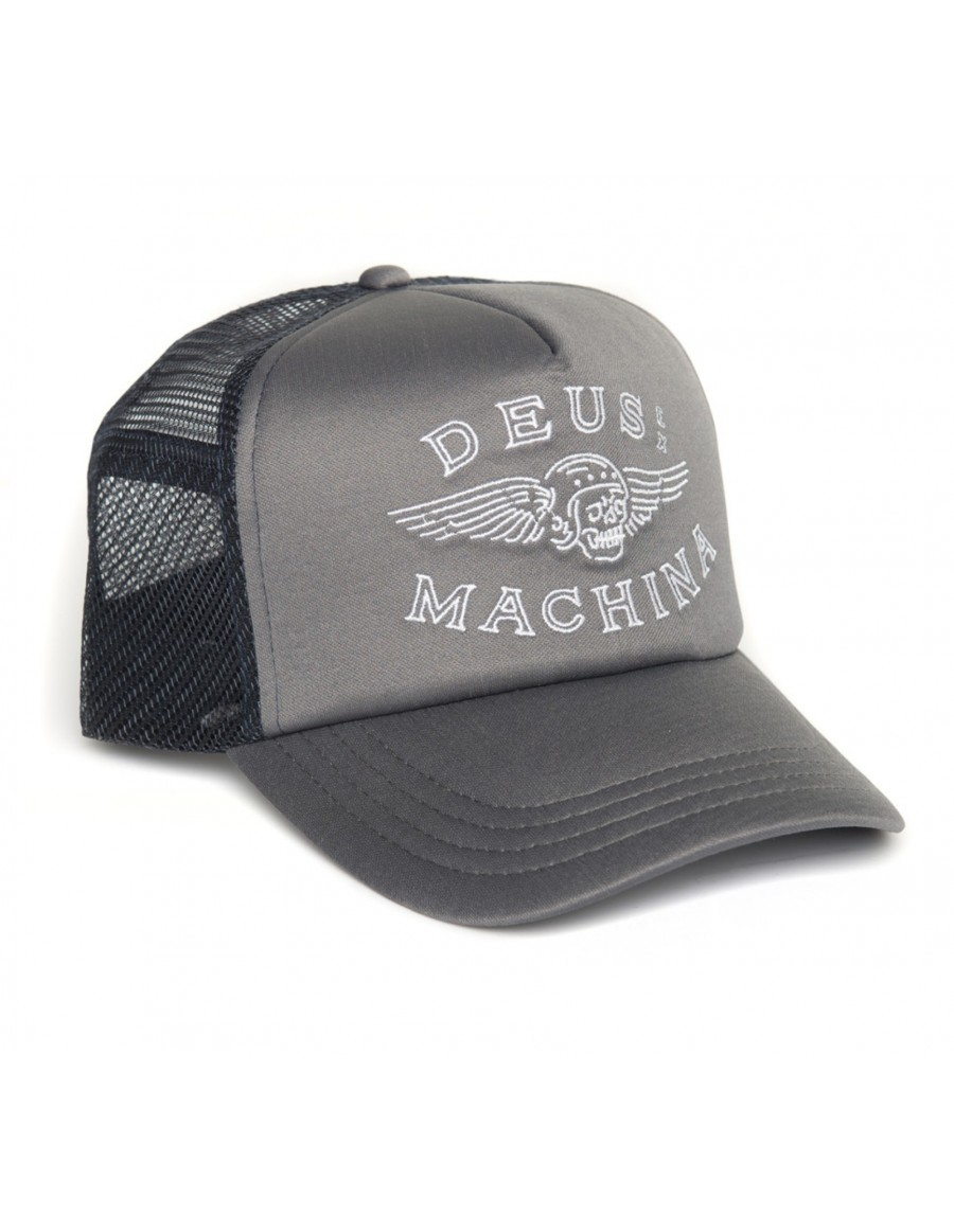 DEUS Curtis Trucker cap - Rock Grey
