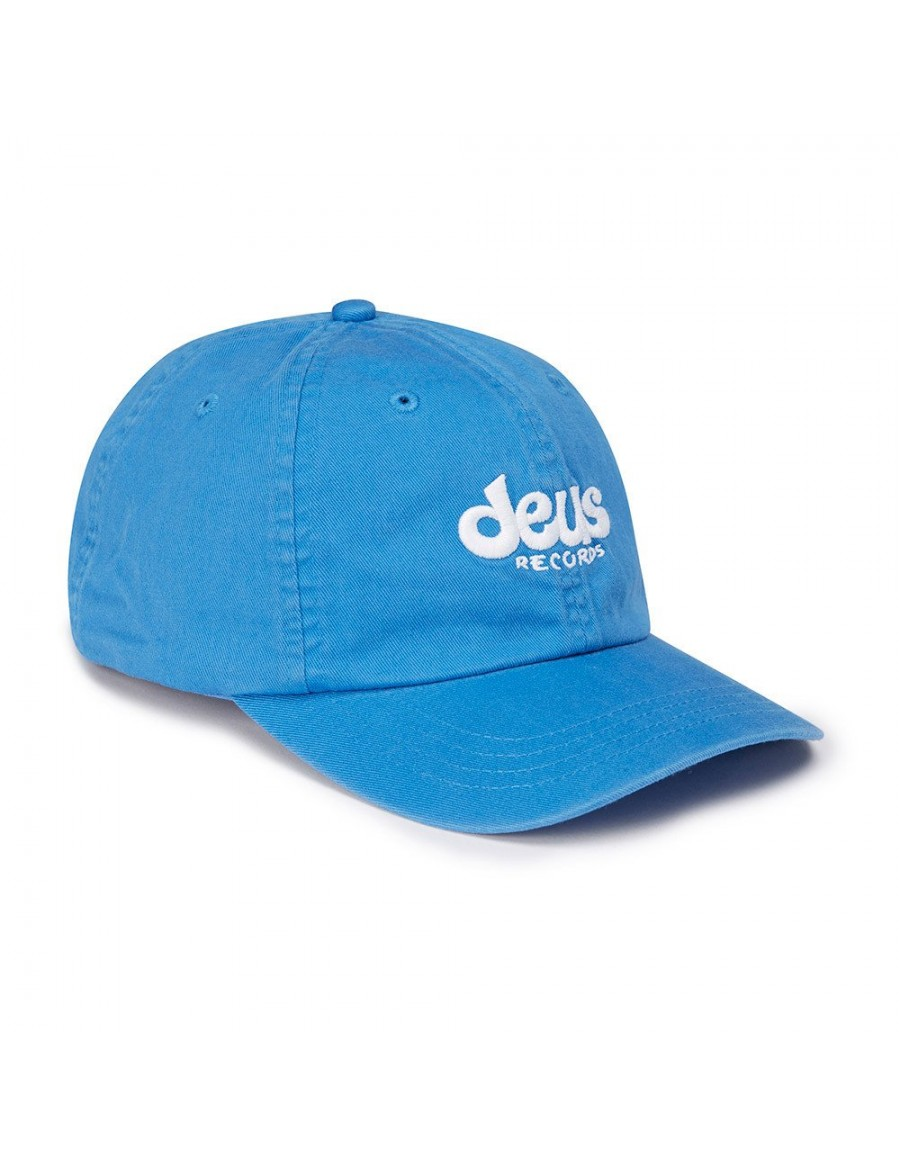 DEUS Curved Cap Records - blue