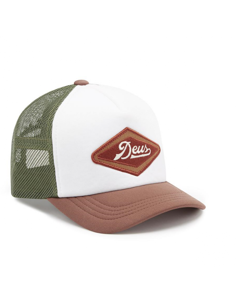 DEUS Diamond 2 Trucker kappe - Braun