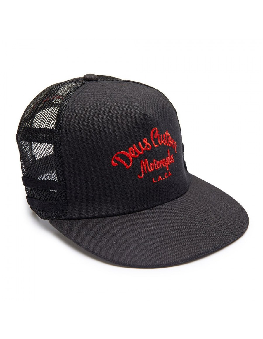DEUS Harry Snapback cap - black