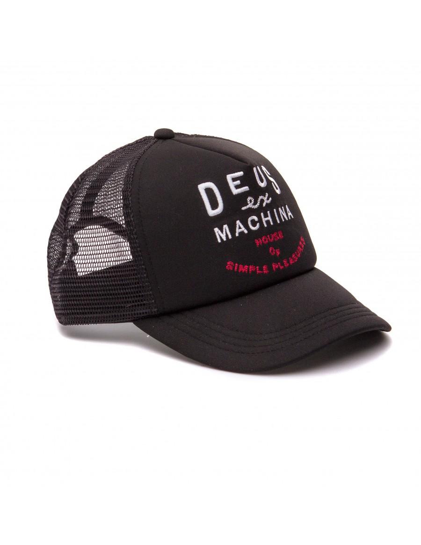 DEUS Lamotte Trucker cap- Black
