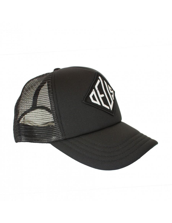 DEUS Oscar Trucker cap - black