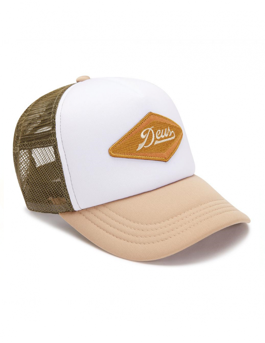 DEUS Kappe Diamond Trucker - tan
