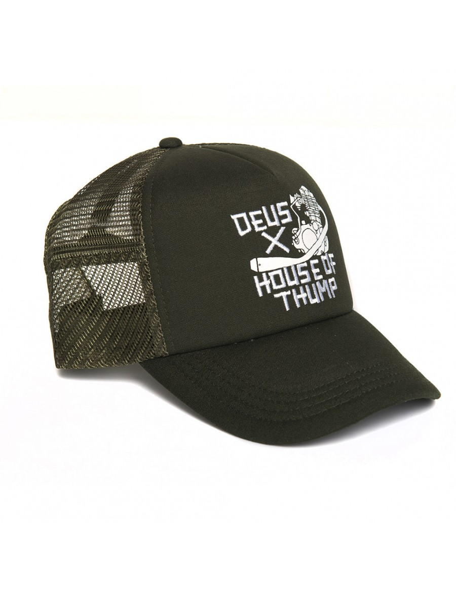 DEUS Trucker Kappe Thump - forest