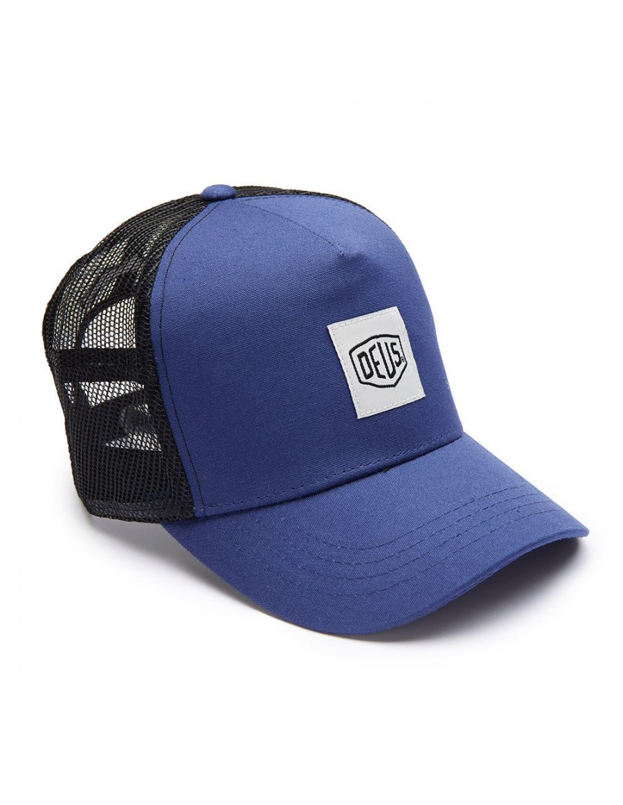 DEUS Kappe Trucker Glover - navy - Sale