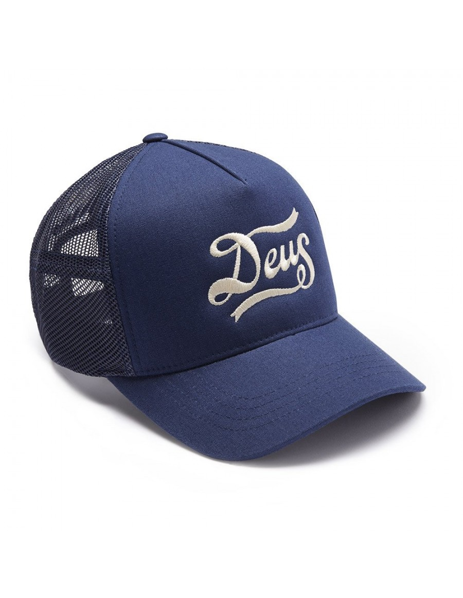 DEUS Kappe Trucker Jones - navy