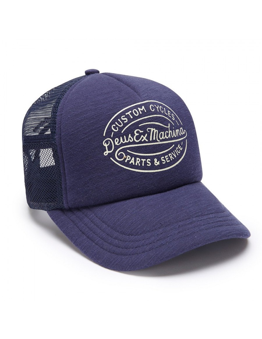 DEUS Kappe Trucker Mike - navy