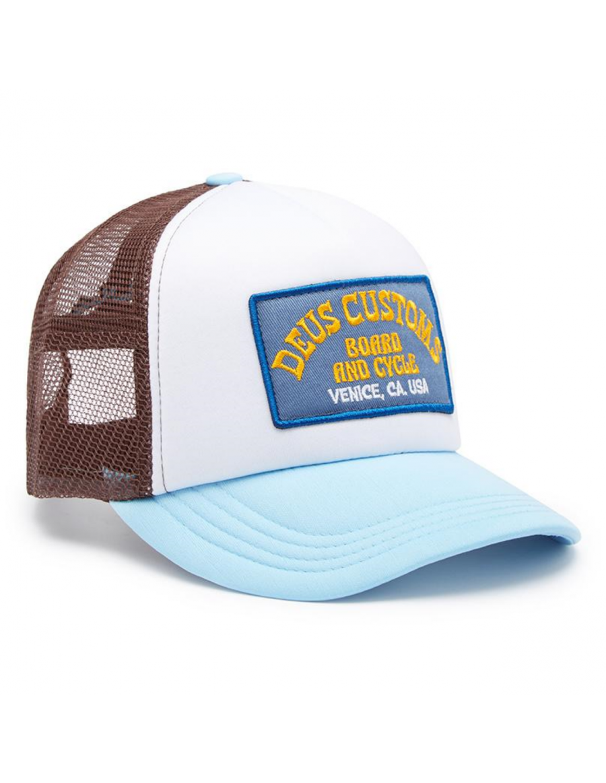 DEUS Soup Trucker cap - Sky