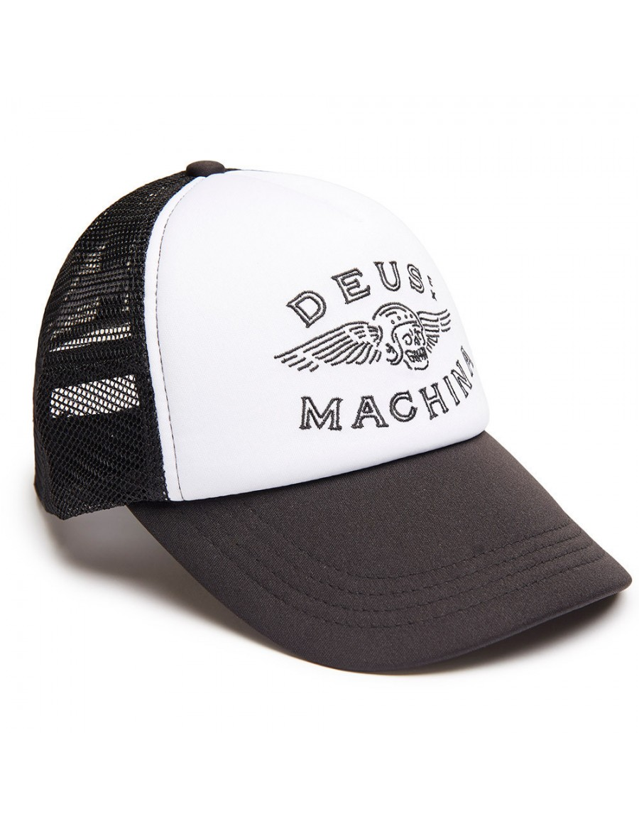 DEUS Trucker Kappe Curtis - black
