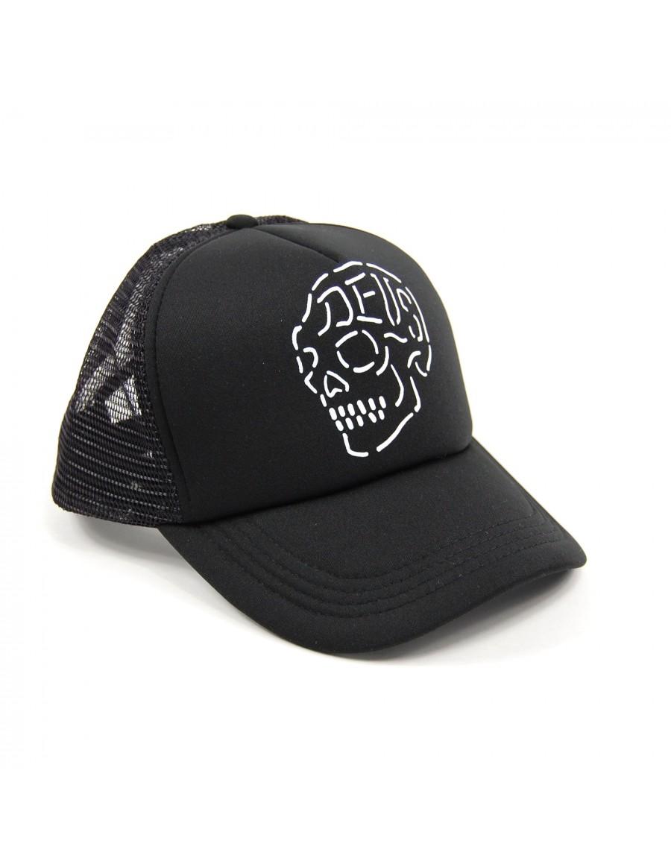 DEUS Venice Skull Trucker cap - Black