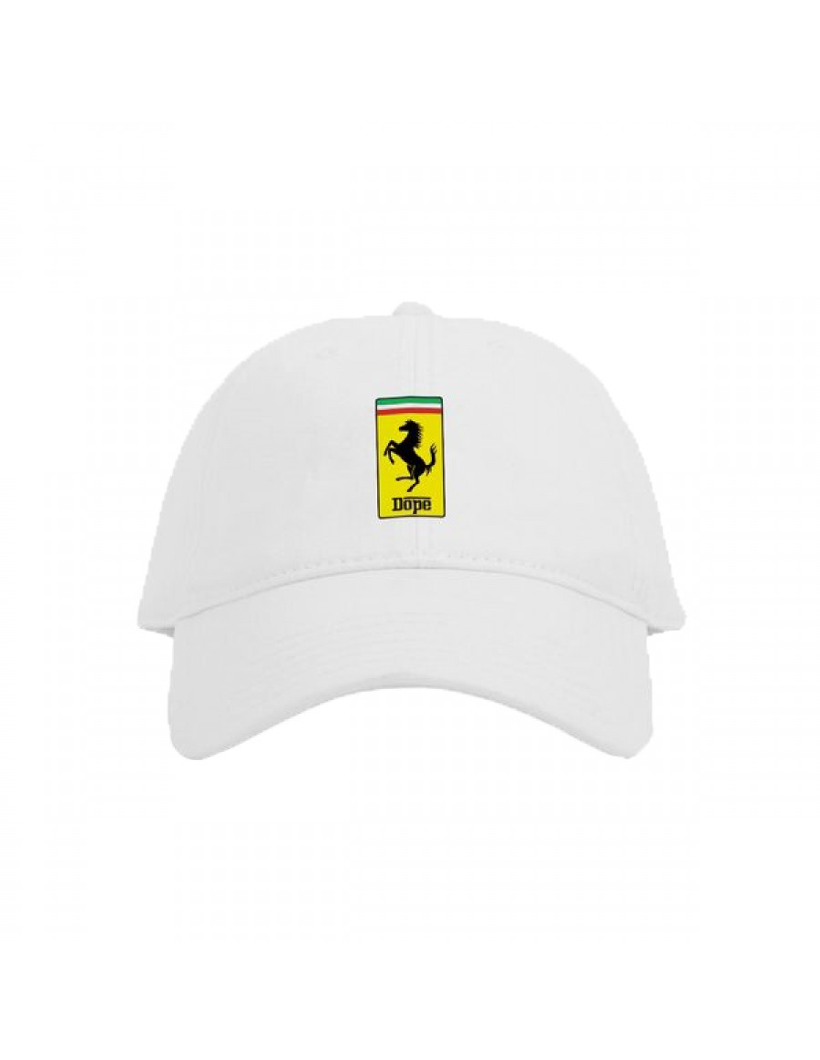 DOPE Enzo Dad hat - white