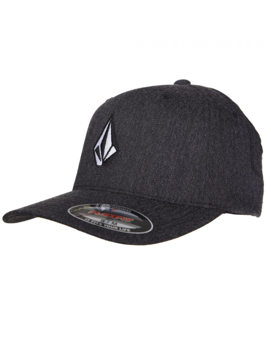 Volcom Full stone flexfit hat charcoal