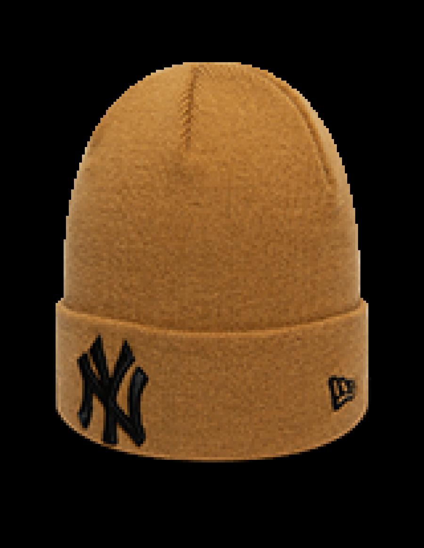 New Era League Essential Cuff Knit New York Yankees - Gold