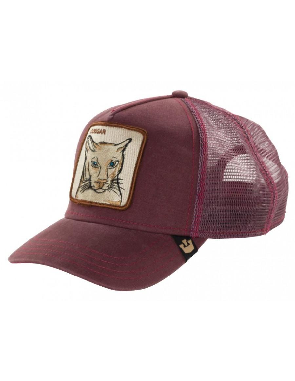 Goorin Bros. Cougar Trucker cap maroon