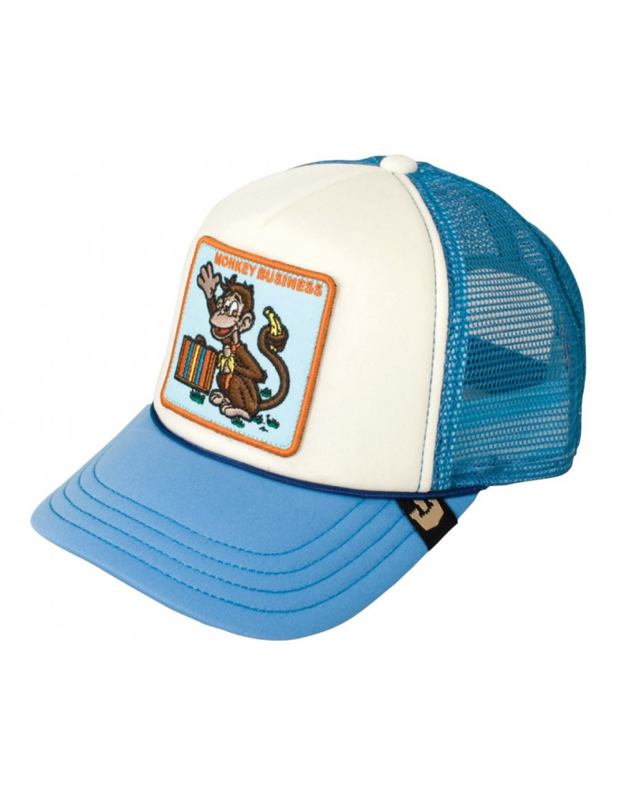 Goorin Bros. KIDS Monkey Business trucker cap