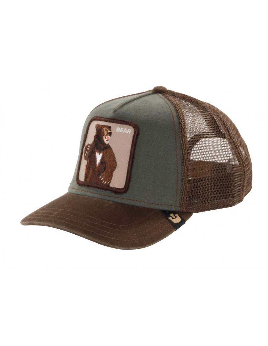 Goorin Bros. Lone Star Trucker cap Olive -brown