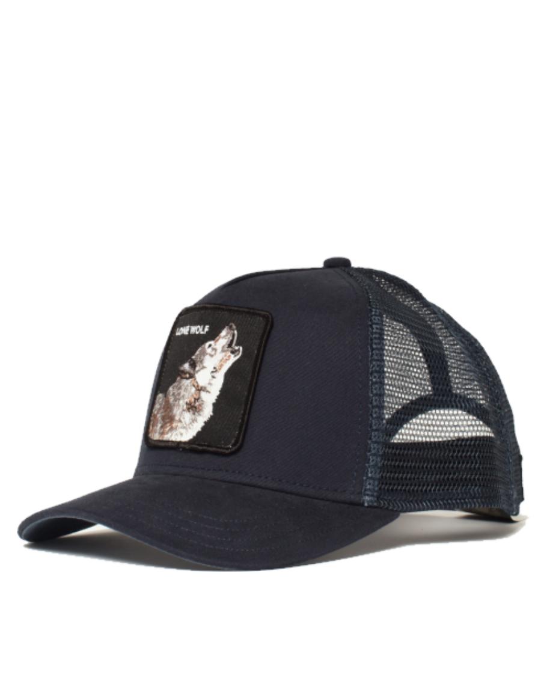Goorin Bros. Wolf Trucker cap - Navy