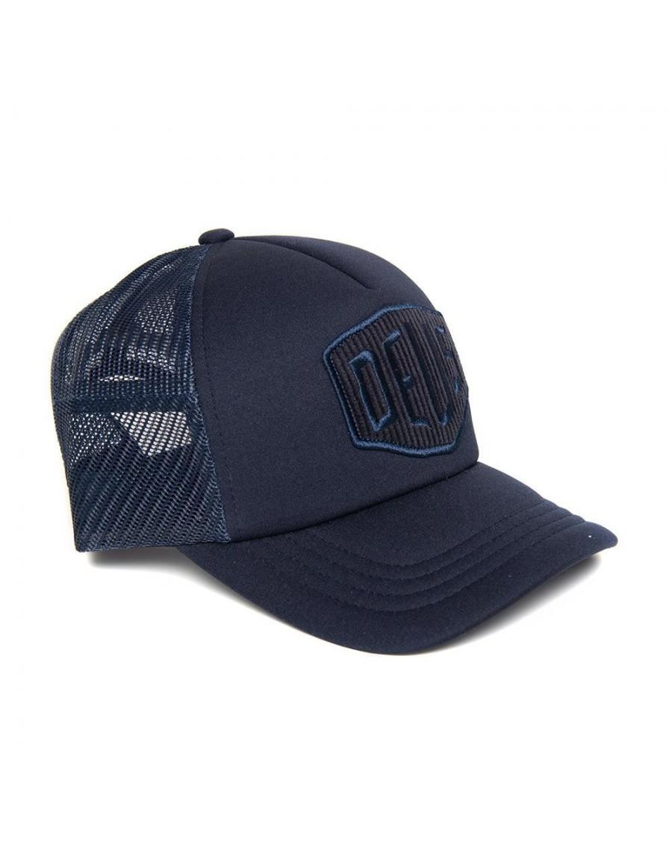 DEUS Hayward Shield Trucker cap - Midnight Blue