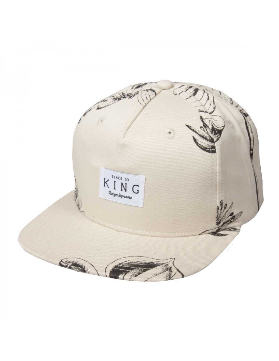 King Apparel Botanic Strapback grey - Sale