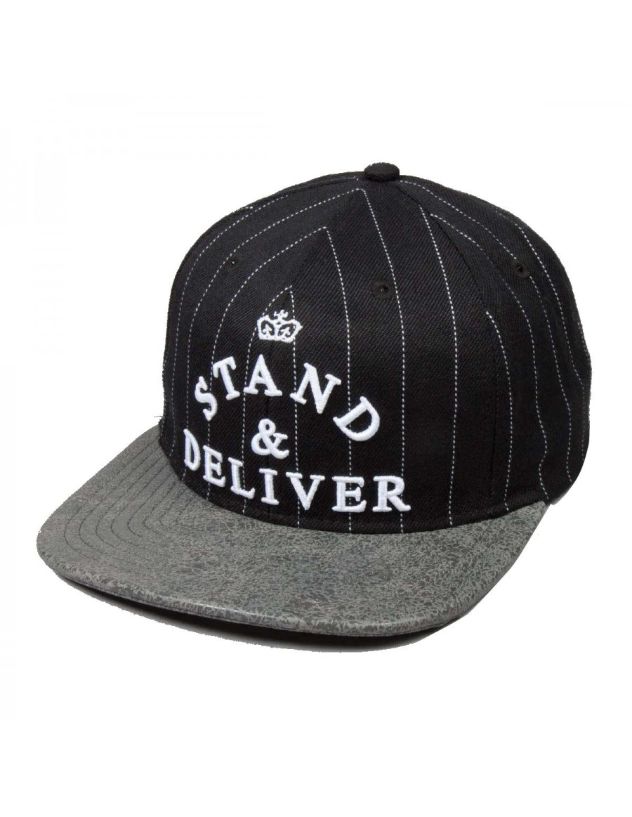 King Apparel Stand & Deliver Snapback black
