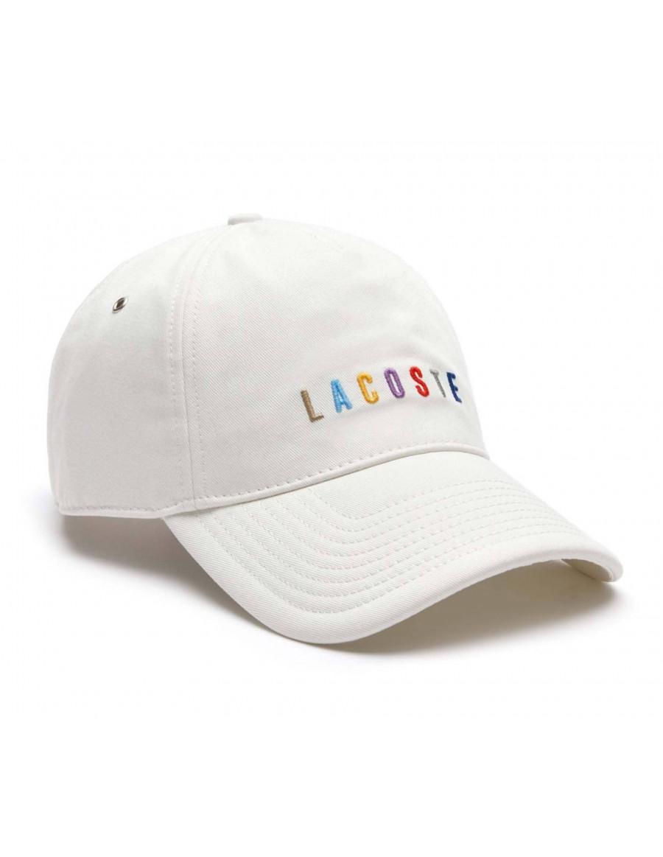Lacoste Kappe - Multicolor cap - Blanc