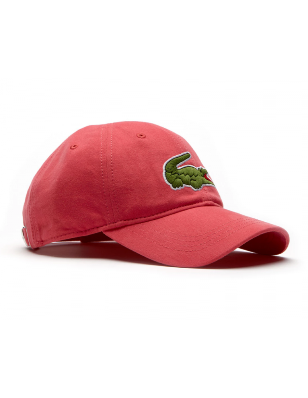 Lacoste Kappe - Big Croc Gabardine - sirop pink