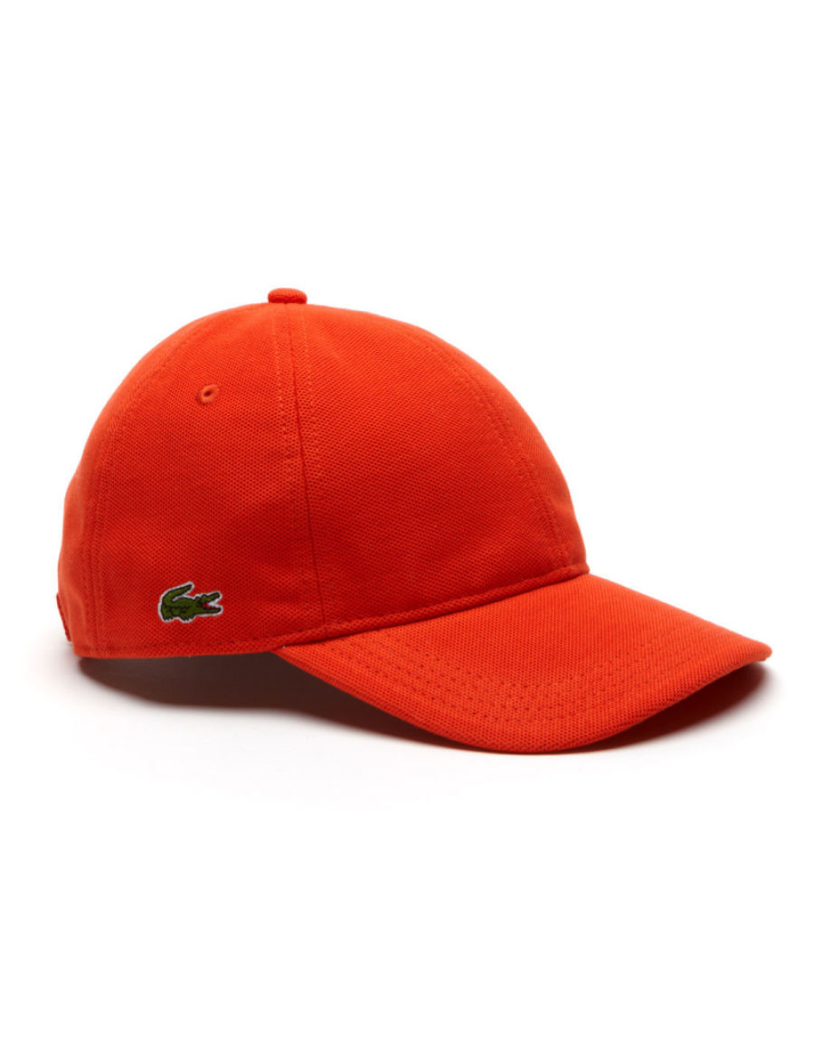 Lacoste Kappe - cotton pique - etna orange