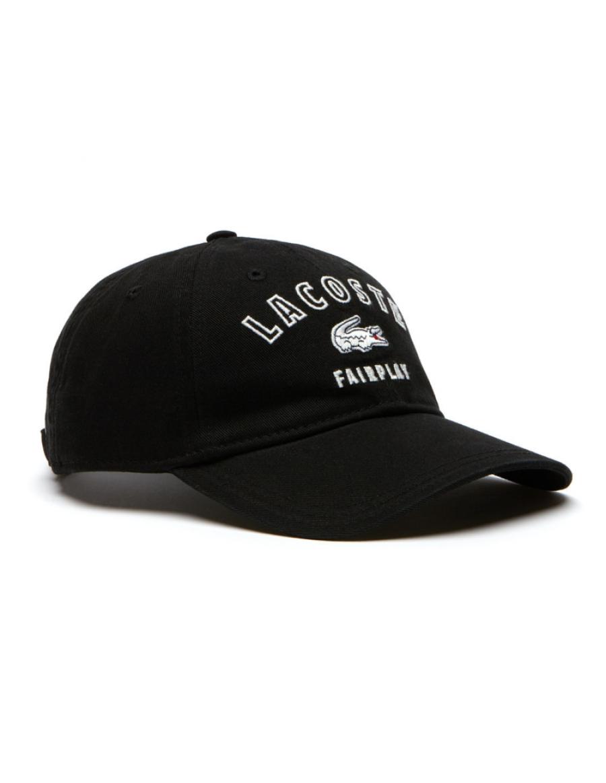 Lacoste Kappe - Fairplay - noir black