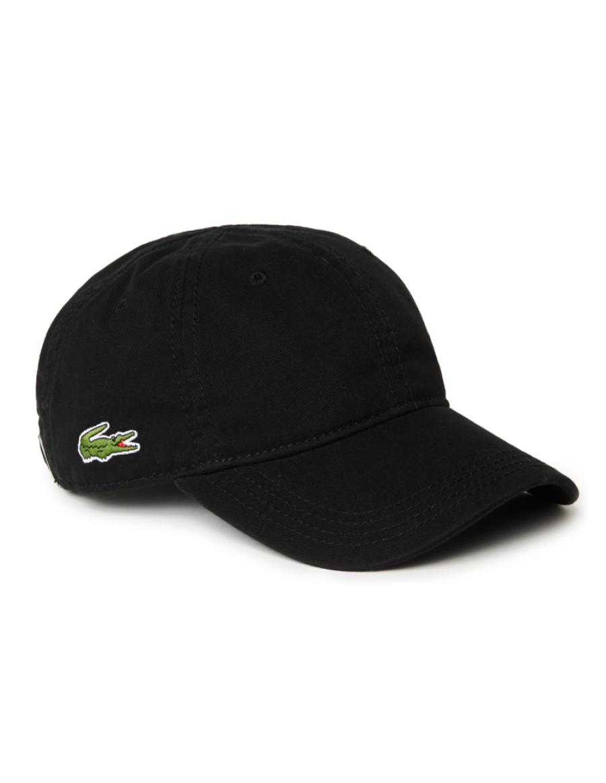 Lacoste Kappe - Gabardine cap - noir black