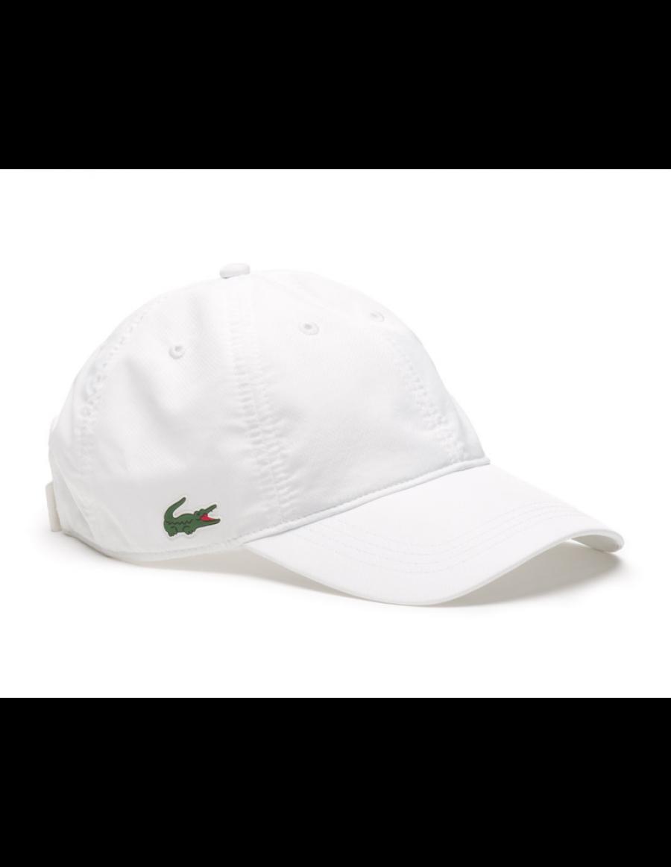 92a61e12a4c Lacoste Kappe - Sport cap diamond - blanc white