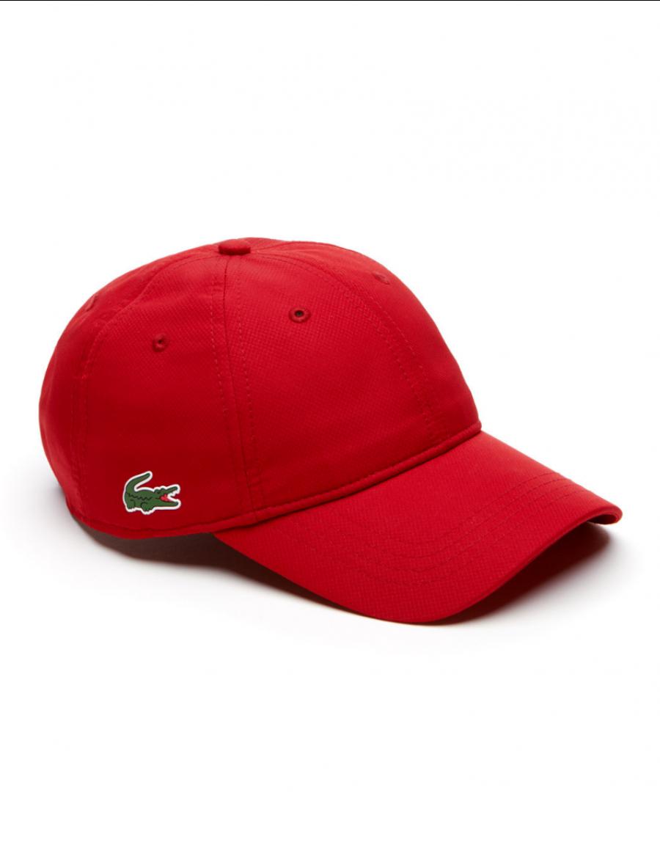Lacoste Kappe - Sport cap diamond - red