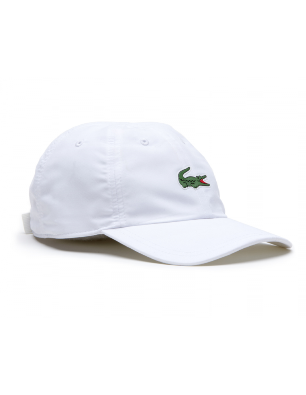 Lacoste Kappe - Sport Microfiber Crocodile - white