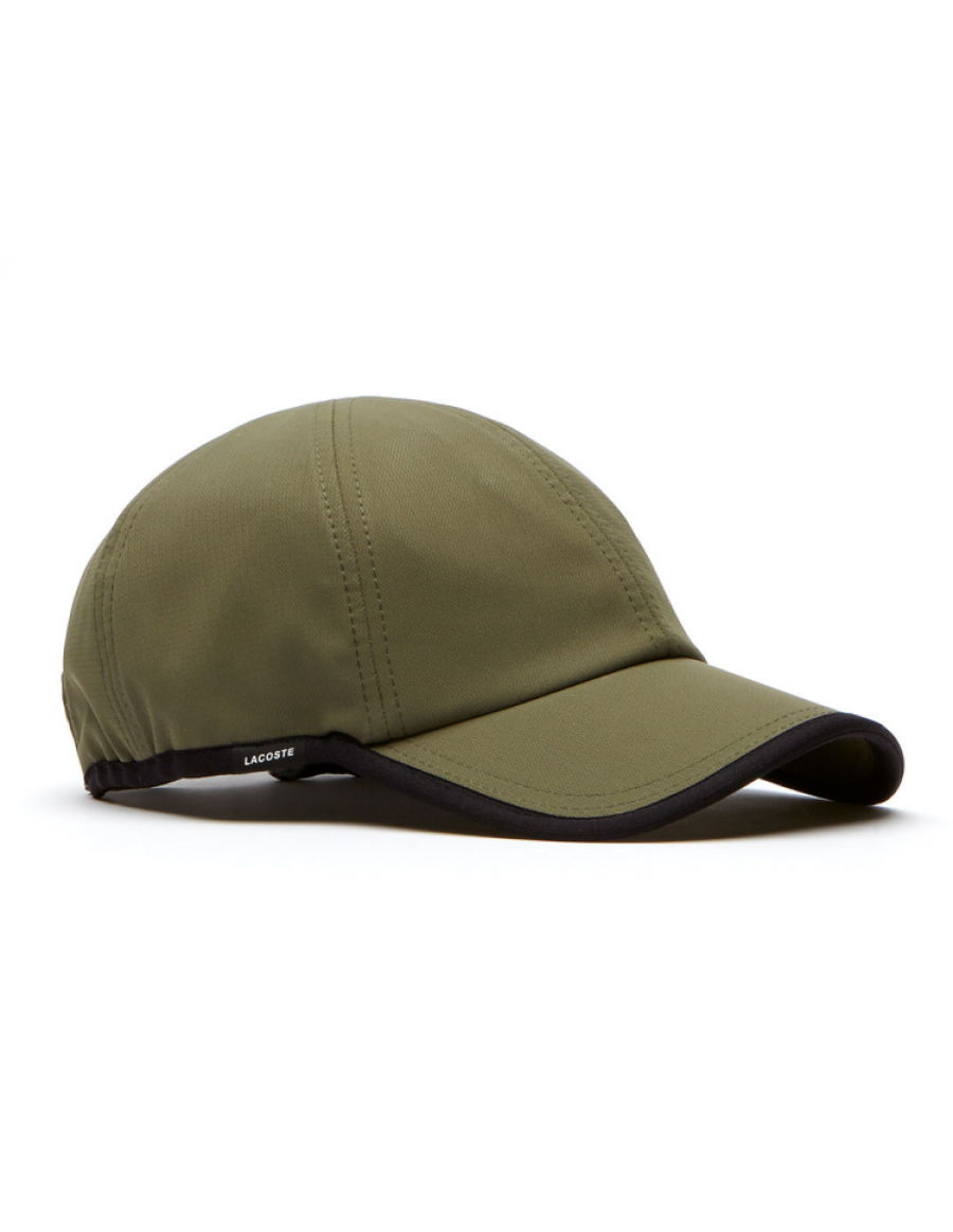Lacoste Kappe - Texturized Sport cap - army