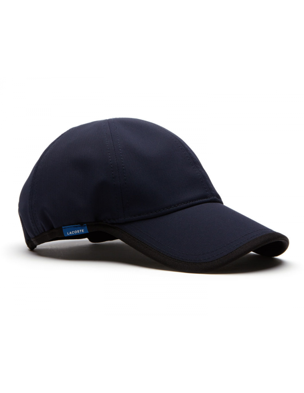 Lacoste Kappe - Texturized Sport cap - navy