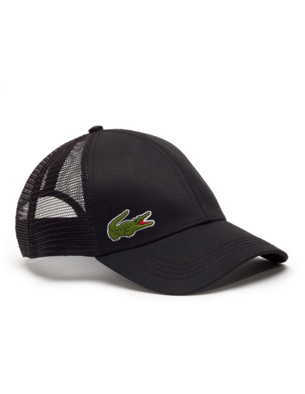 Lacoste Kappe - Trucker cap - black