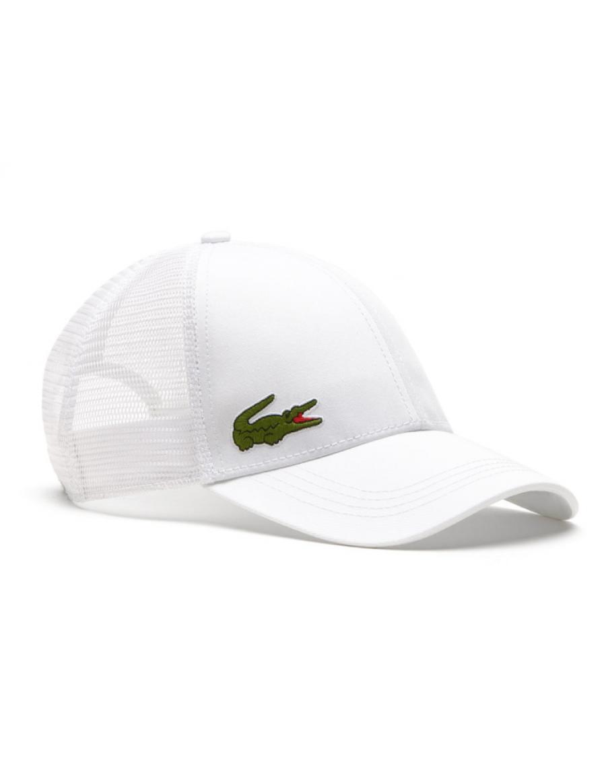 Lacoste Kappe - Trucker cap - white