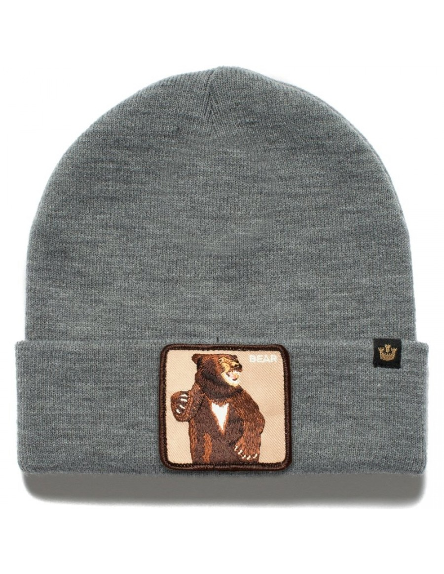 Goorin Bros. Lover Bear Beanie - Grey