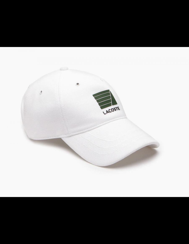 Lacoste Kappe - Nautisch badge - White