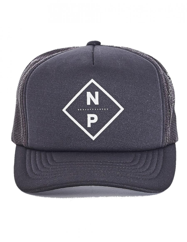 Nena & Pasadena trucker Kappe Home plate - charcoal