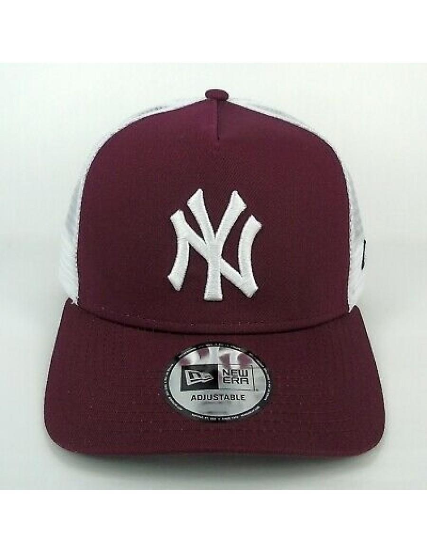 New Era Trucker kappe NY New York Yankees - Maroon