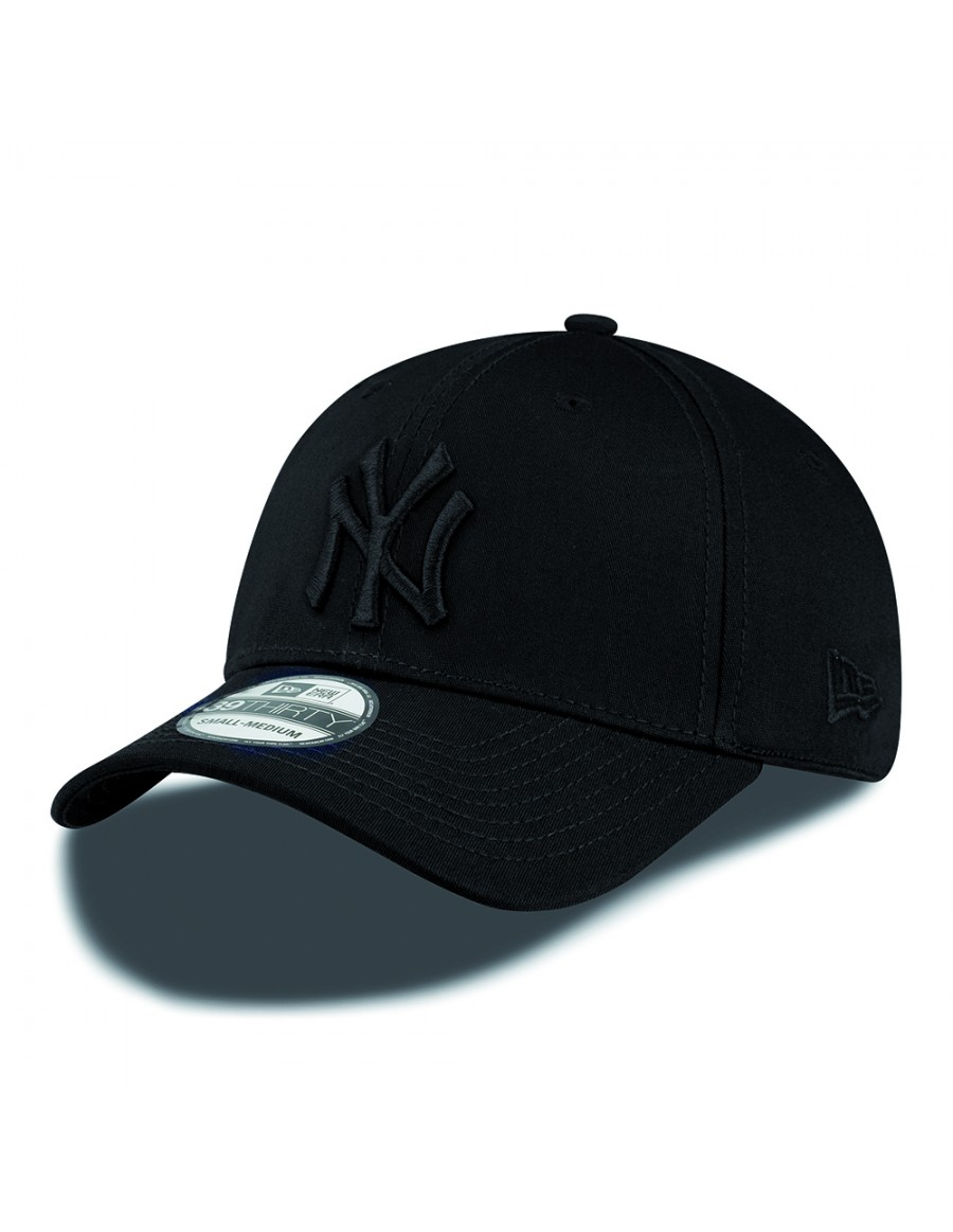 New Era 39Thirty Curved cap (3930) NY New York Yankees - black black