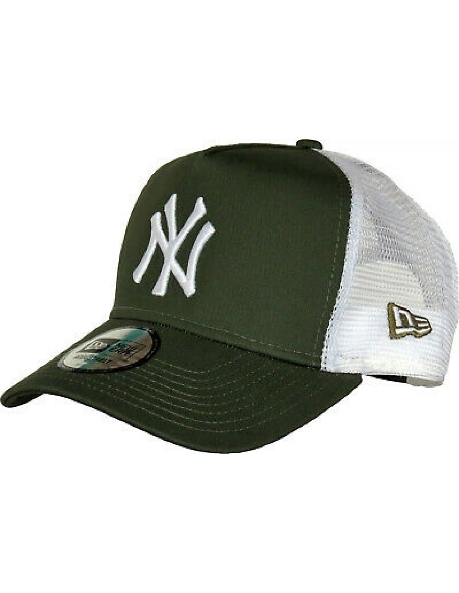 New Era Trucker kappe NY New York Yankees - Olive