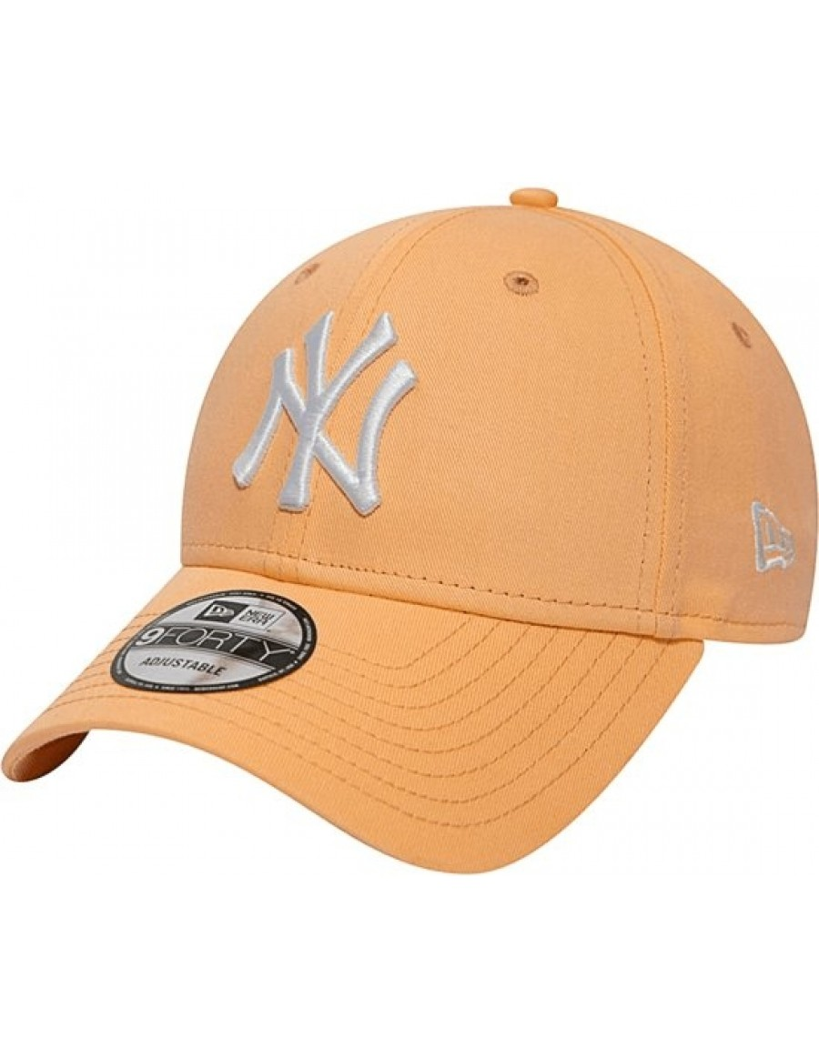 New Era 9Forty Curved cap (940) NY New York Yankees - Orange