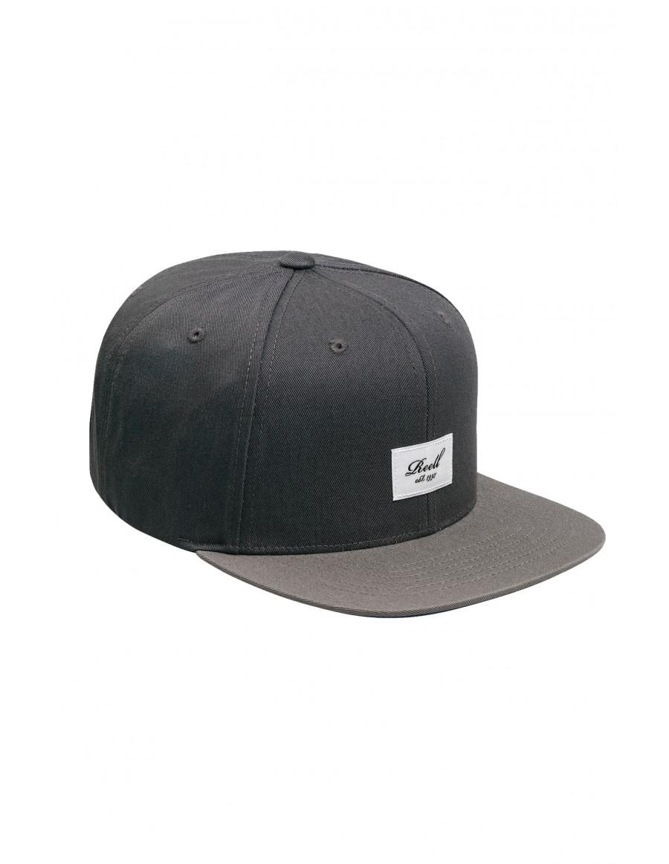 Reell 6 panel Pitchout cap snapback grey - grey
