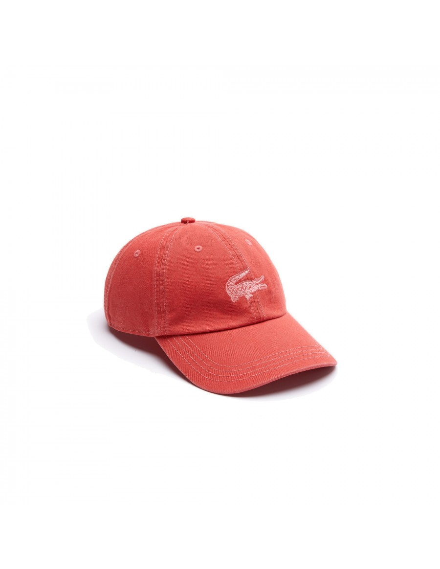Lacoste cap - Filled in Croc - Rouge