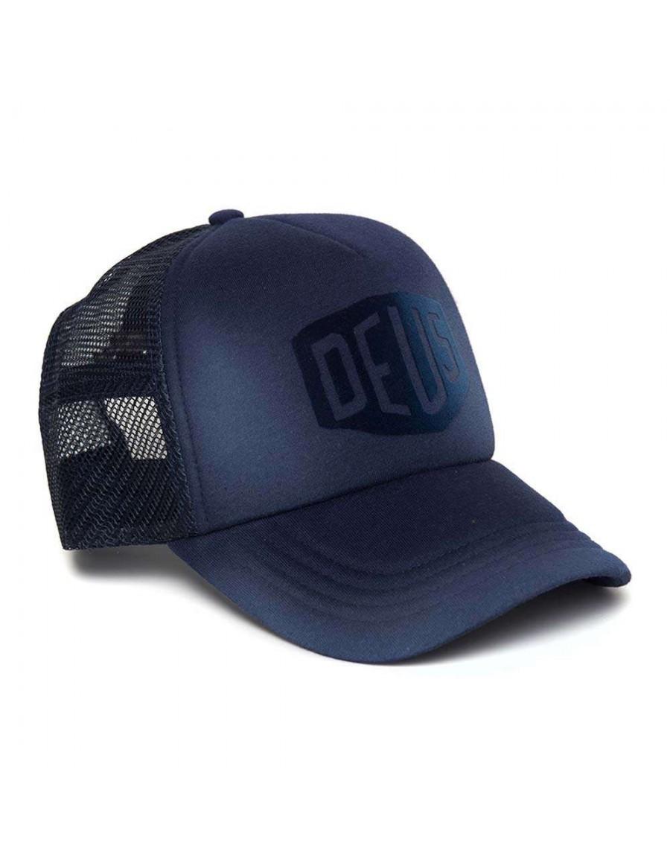 DEUS Sunny Shield Trucker cap - Navy