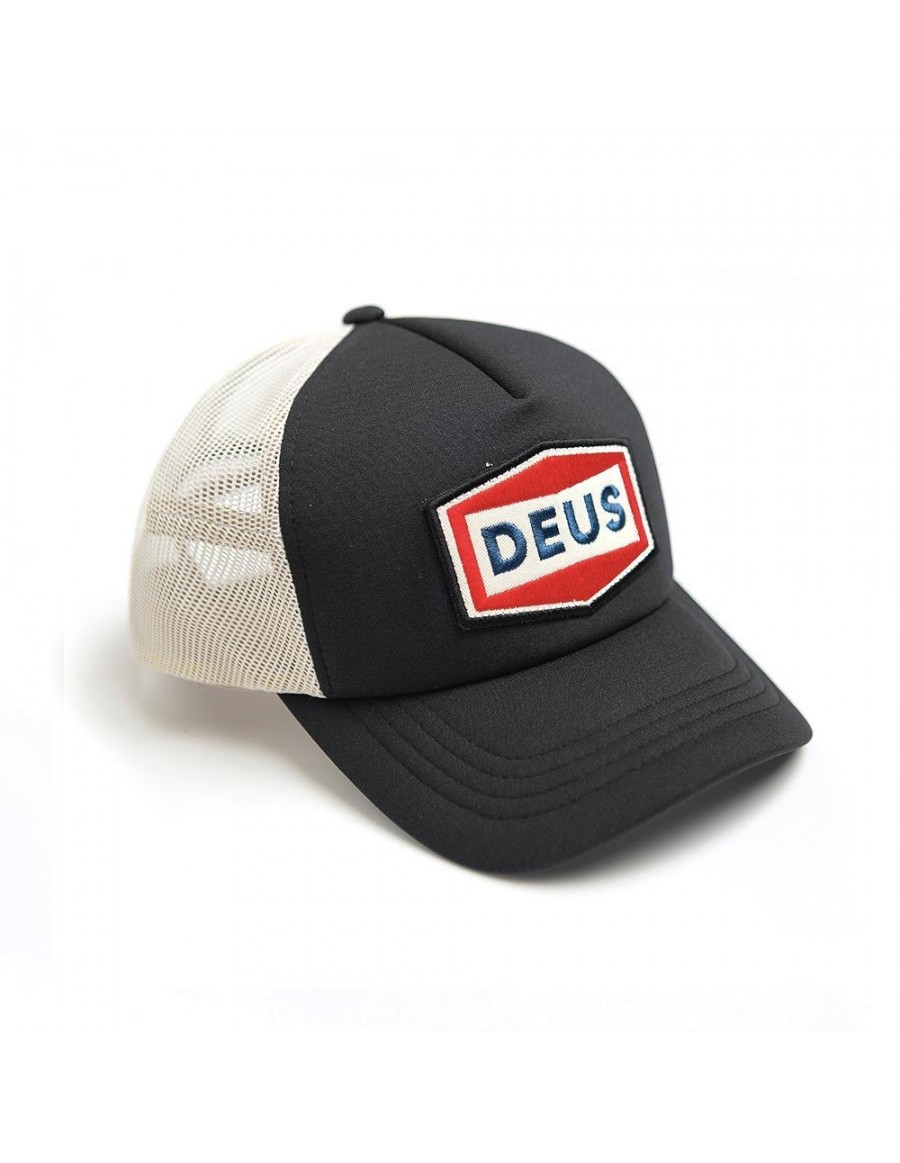 DEUS Speed Stix Trucker cap - Black