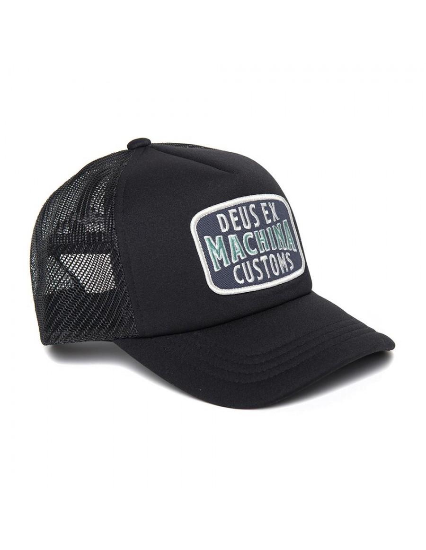 DEUS Title Trucker cap - Black